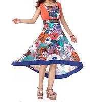 Сарафан-платье с вышивкой