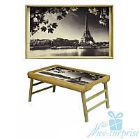 Столик для кофе в постель Утро в Париже