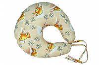 Подушка для кормления ВЕРЕС Medium (бежевый, голубой, розовый)