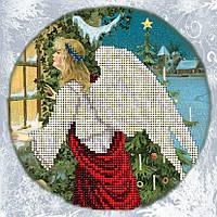 Краса и Творчисть 91114 Рождественские истории 9, набор для вышивания бисером