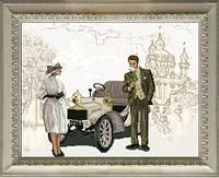 Краса и Творчисть 50714 Встреча в Киеве, набор для вышивания нитками