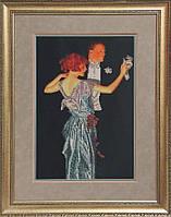 Краса и Творчисть 41010 Вальс, набор для вышивания бисером
