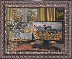 Краса и Творчисть 20511 Фантазии Саванны, набор для вышивания бисером