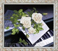 Краса и Творчисть 20312 Признание в Любви 1, набор для вышивания нитами