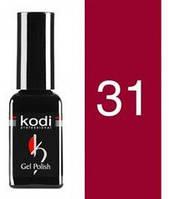 Гель лак №31 светлая вишня, эмаль Kodi Professional 12 мл CVL  /511