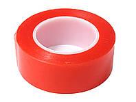 Скотч двухсторонний 10 мм х 2 м, красный 3М
