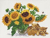 Матренин Посад 0524/Н Солнечный букет, набор для вышивания нитками