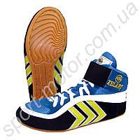 Обувь для борьбы Борцовки синие