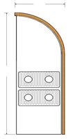 Декоративный радиатор Fancoil FCFR 2