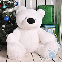 Большой плюшевый медведь Бублик 80 см (белый), фото 1