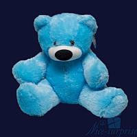 Большая мягкая игрушка Плюшевый мишка Бублик 200 см (голубой), фото 1