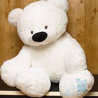 Большой плюшевый медвежонок Бублик 150 см (белый), фото 1