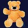 Красивый плюшевый медвежонок Бублик 100 см (жёлтый)