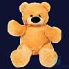 Большой плюшевый медведь Бублик 120 см (жёлтый)