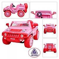 Детский электромобиль Джип Injusa «Helloy Kitty» 7534, двухместный