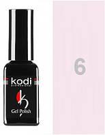 Гель лак №6 Kodi Professional 12 мл CVL /511