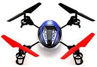 Квадрокоптер радиоуправляемый 2.4Ghz WL Toys UFO Force (синий, фиолетовый)