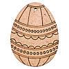 Набор заготовок Яйцо (ДВП) 8х6 см, 2 шт