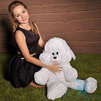 Мягкая игрушка Плюшевый Зайчик Снежок 65 см (белый), фото 1