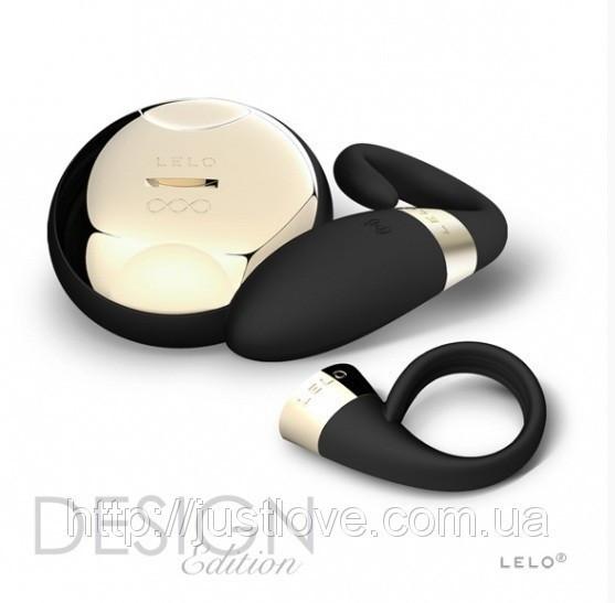 Lelo Oden 2 Black - Стимулятор клитора + Эрекционное кольцо