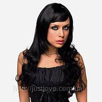 Чёрный длинный парик — Shirley Wig Black