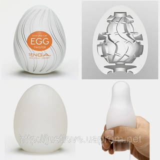 Tenga Egg Twister Яйцо мастурбатор (6 Pieces) 6 штук