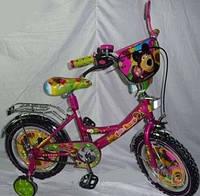 """Детский велосипед Mustang-"""" Маша и Медведь"""" (18 дюймов)"""