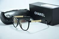 Оправа Chanel черная с золотом, фото 1