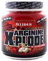 Аргинин Weider Arginine X-Plode (екзотик фрут) 500 g