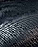 Карбон пленка 3d черный с микроканалами LG Корея 100х152 см.