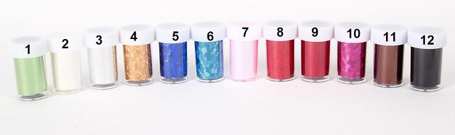 Фольга в банках для дизайна ногтей 4х150 см YRE Ф03447 /54-0