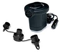 Электрический воздушный насос Intex 66626 Quick-Fill DC Electric Pump, 12В (работает от прикуривателя в автомо