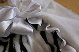 Зебра конверт-одеяло для новорожденного, фото 3