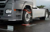 Лазерный стенд развал-схождения для грузовых автомобилей
