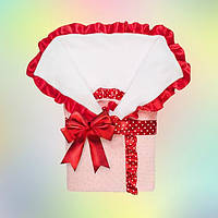 Плюшевый конверт-одеяло для новорожденного