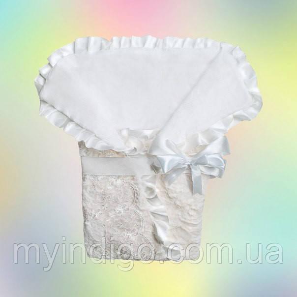 Авторский конверт-одеяло для новорожденного