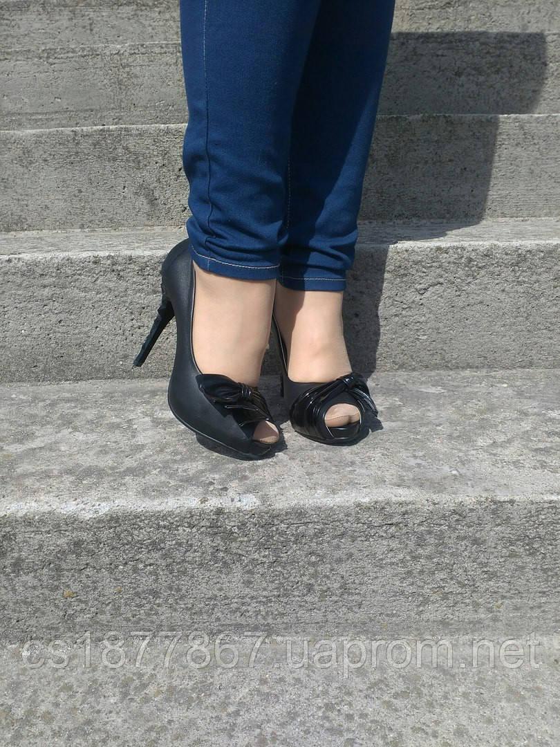 Туфли женские открытый пальчик