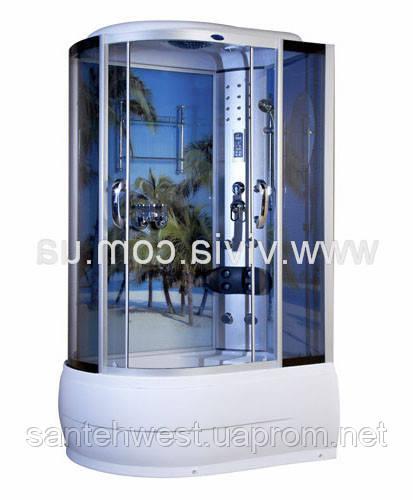 Гидробокс 120x85x220 VA-167 L пальмы
