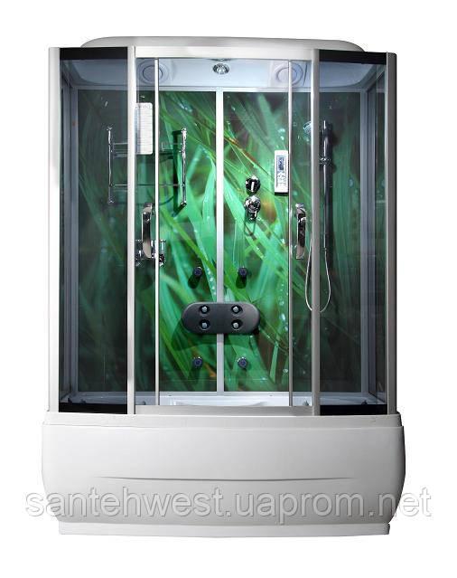 Гидробокс с ванной 170х80х210 VA -169-1 Трава