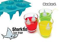 Стильный лоток для льда в виде плавников акул Shark Fin Ice (ЗАМОРОЖЕННЫЕ ПЛАВНИКИ АКУЛ) Cube Tray