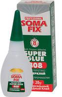 SOMA FIX Клей, супер клей, 20 гр 808  (61893006)