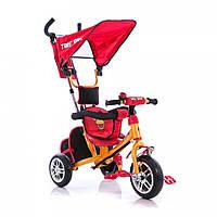 Детский трёхколёсный велосипед Azimut BC-15AB Angry Birds красный