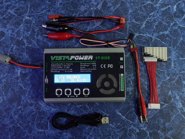Универсальное зарядное устройство VistaPower EV-815A