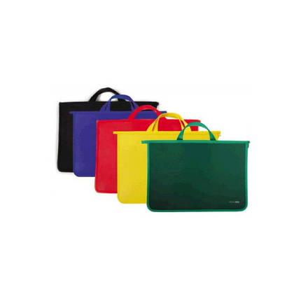 Папка - портфель Economix Е31630 А4 пластиковый, 2 отделения, фото 2
