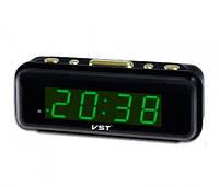Настольные электронные часы VST 738 с будильником