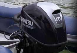 Мощный 4-х тактный мотор Tohatsu MFS50A ETL, фото 2