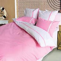Комплект постельного белья ТЕП евроразмер Дуэт розовый
