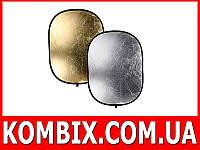 Отражатель, рефлектор овальный 2 в 1, 60 см на 90 см