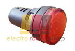 AD22-22DS червона 220V AC