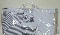 Комплект одежды  для новорожденных  в роддом на выпискy белый Склад 2